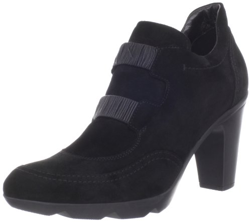 30755bd67f3fd6 The Features Aquatalia by Marvin K Women s Glow Bootie Black Suede 10 B US -