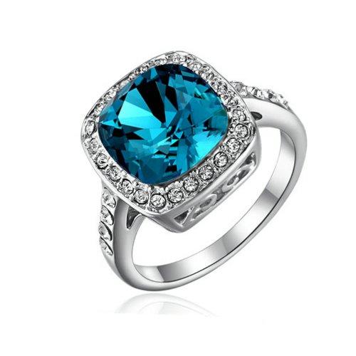 yoursfs 15ct diamond style topaz with austrian crystal