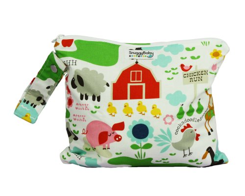 Snuggy Baby Wet Bag - Farm Fun - 1