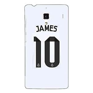 Jugaaduu Real Madrid James Rodriguez Back Cover Case For Redmi 1S