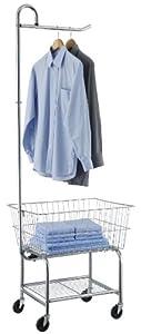 Organize It All Chrome Laundry Center (17167W-1)