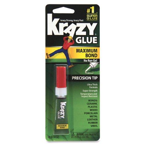 Krazy Glue Kg48448Mr Instant Crazy Glue Advanced Formula Gel 0.14-Ounce
