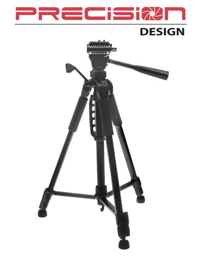 Precision Design PD-57TR 57-inch Photo & Video Tripod with Carrying Case