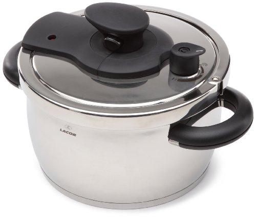 Lacor 71860 suprem pressure cooker 6 lts cms cookware for La cuisine 29 x 26cm cast iron grill pan