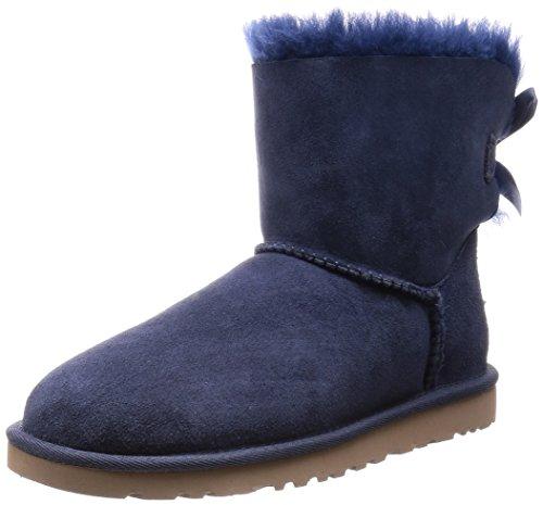 ugg-australia-mini-bailey-bow-botas-para-mujer-color-azul-talla-41