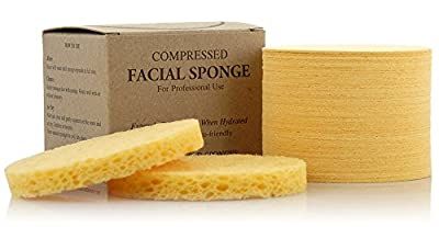 Appearus Compressed Cellulose Facial Sponges (50 Count)