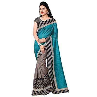 Janasya Womens Silk Saree (Jne0622 _Multicolour _Free Size)
