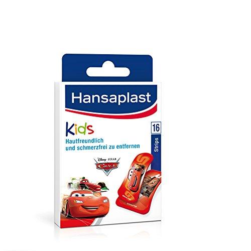 Hansaplast Pflaster Cars Ass, 16 Strips, 2er Pack (2 x 16 ml)