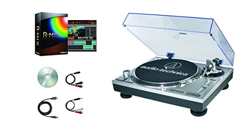Audio Technica AT-LP120-USB R-MIX Turntable Software Bundle with Roland R-MIX