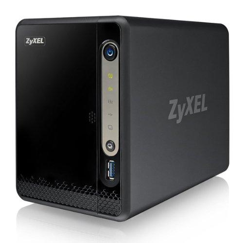 Zyxel NSA325v2 NAS Server 2-Slot SATA III 1x Ethernet USB 3.0 Black Friday & Cyber Monday 2014