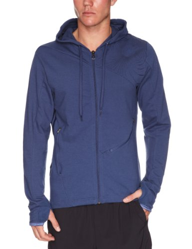 Adidas BC Yoga FZ Hoody Men's Sweatshirt Deepesink Medium