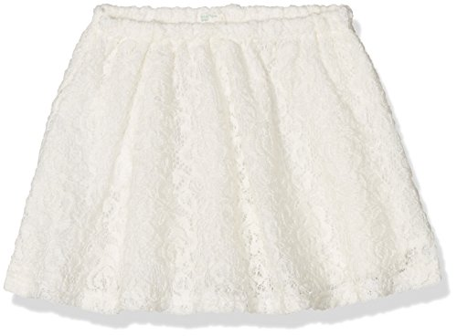 United Colors of Benetton 4BVES01JE, Gonna Bimbo, Off-White (Cream), 3-6 Mesi