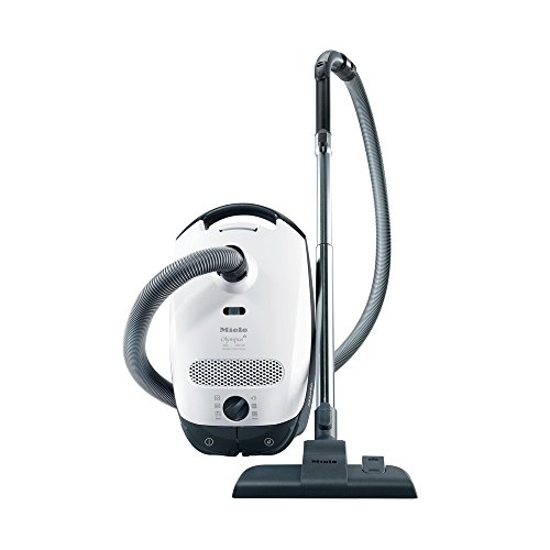 Discover Bargain Miele Classic C1 Olympus Canister Vacuum, Lotus White