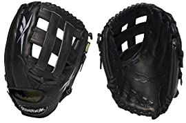 Reebok VROTR1276 VR6000 OTR Ballglove Series 12 3/4 inch Outfielder Baseball Glove (Left Handed Thrower)