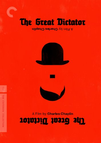 DVD - The Great Dictator - a film by Charlie Chaplin - the Criterion Collection