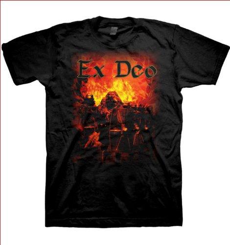 Ex Deo Mens strada per conquistare Tour-Maglietta, colore: nero nero XX-Large