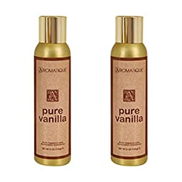 Two (2) Aromatique 5 Ounce Room Fragrance Sprays - Pure Vanilla