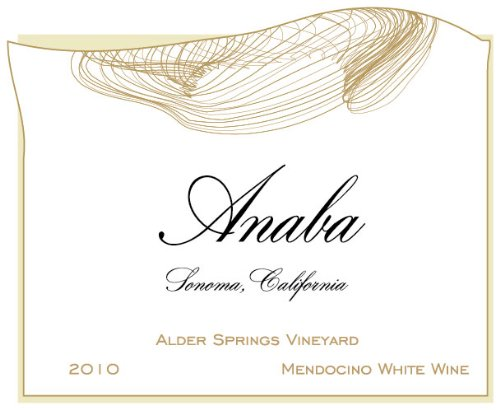 2010 Anaba Alder Springs White Blend White Wine