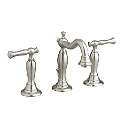 American Standard 7440.851.295 Quentin Widespread Lavatory Faucet, Satin Nickel