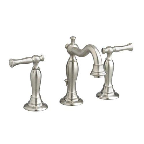 American Standard 7440.851.295 Quentin Widespread Lavatory Faucet, Satin Nickel (American Standard Faucet Nickel compare prices)