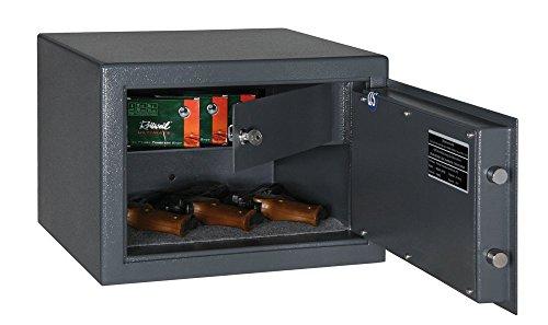 Möbeltresor M410 IT mit Sicherheitsstufe B nach VDMA24992 & abschliessbarem Innenfach