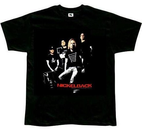 Nickelback Bodies black t-shirt (X-Large)