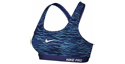 Nike Pro Classic Padded Reflect Women's Sports Bra, Medium, Deep Royal Blue (Nike Pro Classic Sports Bra compare prices)