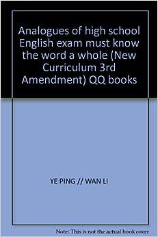 English 3rd year high school curriculum