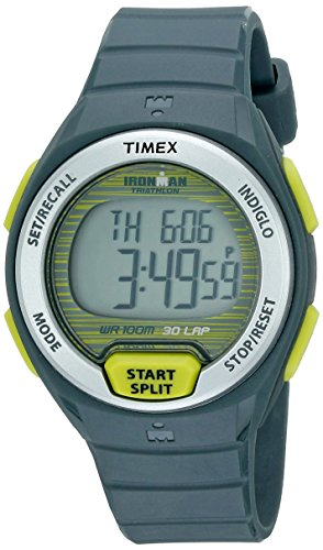 Timex Women's T5K7639J Ironman Oceanside 30-Lap Watch with Grey Strap (Iron Man Woman compare prices)