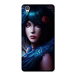 Premium Crossed Angel Multicolor Back Case Cover for OnePlus X