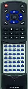 TOSHIBA Replacement Remote Control for MV13P2, MV20P2, AE002788, VCP2S, MD20P2