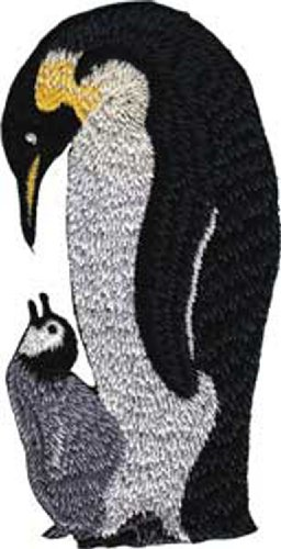 Application Penguin Mom and Baby Patch