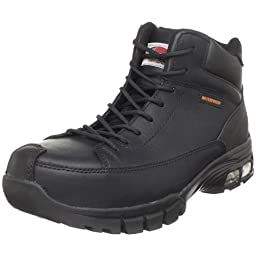 Avenger 7248 Waterproof  Comp Toe No Exposed Metal EH Boot with ABS  Cushioning,Black,9.5 M US
