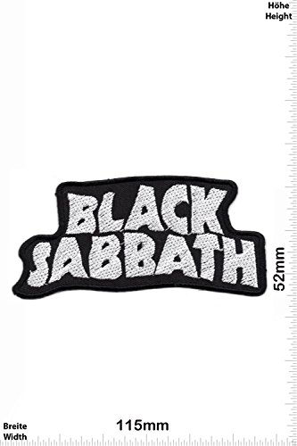 Patch - Black Sabbath - MusicPatch - Rock - Chaleco - toppa - applicazione - Ricamato termo-adesivo - Give Away