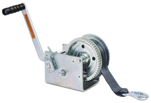 Dutton-Lainson DL2500AS 2500 lb Plated Pulling Winch with 25- Feet Strap