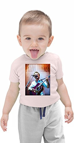 Frank Turner On Stage Organic Baby T-shirt Stylish Organic Baby T-shirt Fashion Fit Kids Printed Clothes by Genuine Fan Merchandise 3-6 Months