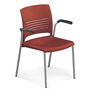 Ki Furniture Strive Stack Chair With Arms