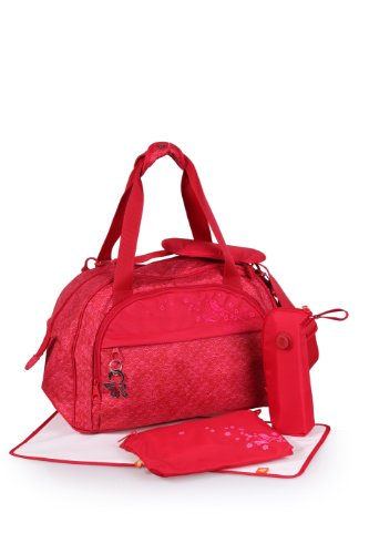 okiedog Shuttle diaper bag Sakawa red - 1