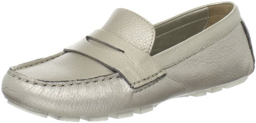 Cole Haan Women's Air Sadie Driver,White Gold,8 B US