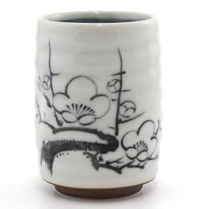 Japanischer Teebecher NY-28 Pflaumenblüte