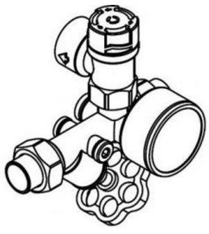 Viessmann 7219722 Sicherheitsgruppe für Speicher-Wassererwärmer
