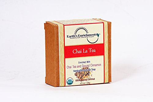 Earth'S Enrichments - Usda Organic Chai La Tea Bar Soap