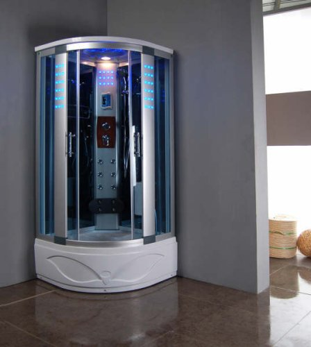 Shower W/hydro Massage Jets & Steam Spa Sauna
