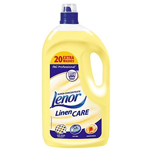 Lenor Professional Summer Breeze Super Concentrate Linen Care 4L (Pack of 3 x 4ltr)