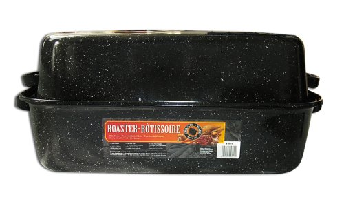 Granite Ware 0511-3 Covered Rectangular Roaster 21.25 By 14 By 8.5-Inch