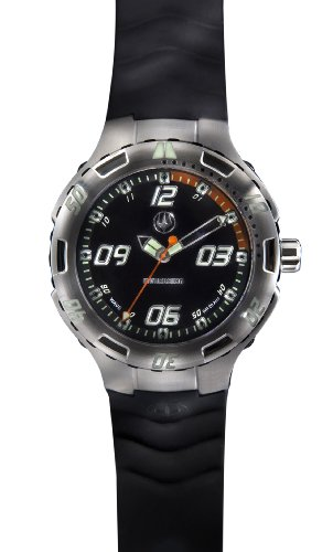 Immersion IM7752 Gents Watch Quartz Analogue Black Dial Black Silicone Strap