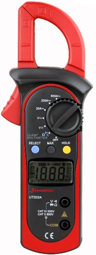 Uni-Trend Ut202A Auto-Ranging Ac 600 Amp Clamp Meter