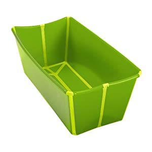 a real cool world flexibath fold away baby bath tub green lime. Black Bedroom Furniture Sets. Home Design Ideas