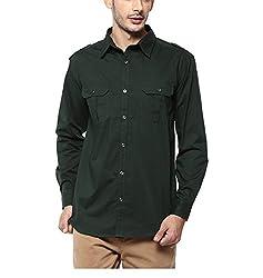 Yepme Men's Green Cotton Shirts - YPMSHRT1114_38