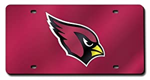 Arizona Cardinals License Plate Cover (Red) by Rico